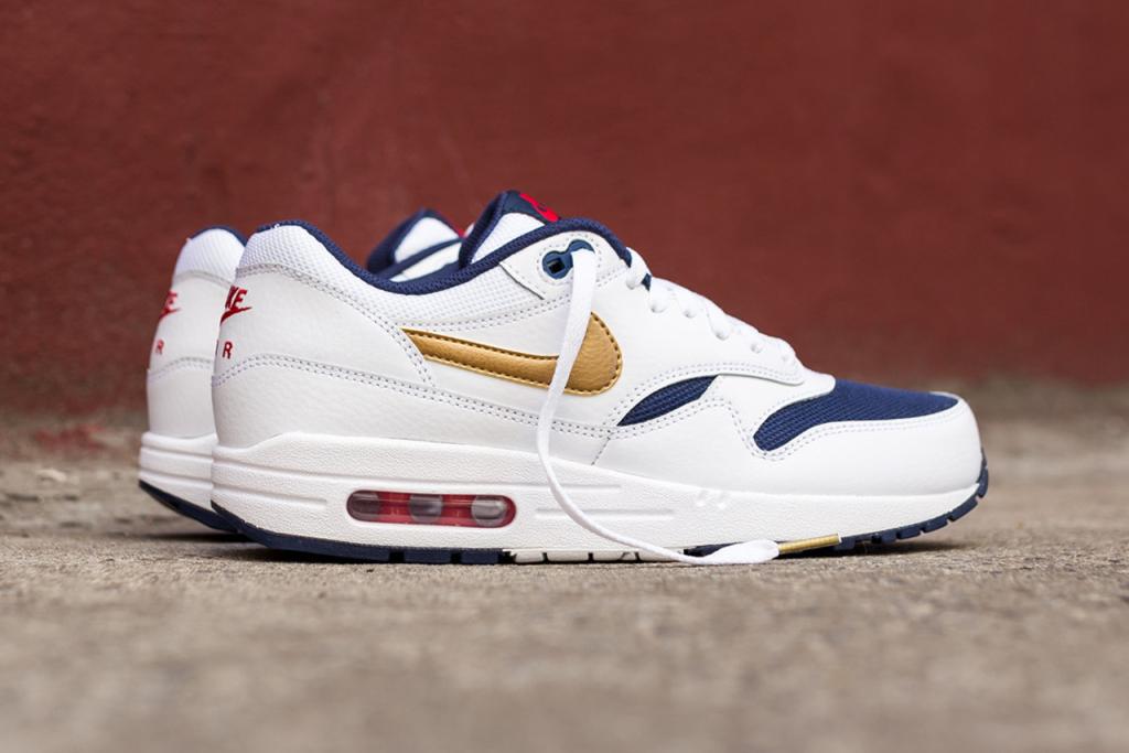 Aperçu de la nouvelle Nike Air Max 1 Essential «Olympic»
