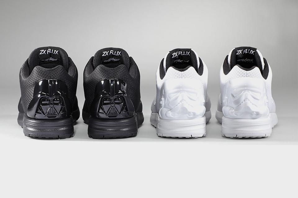 Adidas rejoint le côté obscur de la force avec sa ZX FLUX