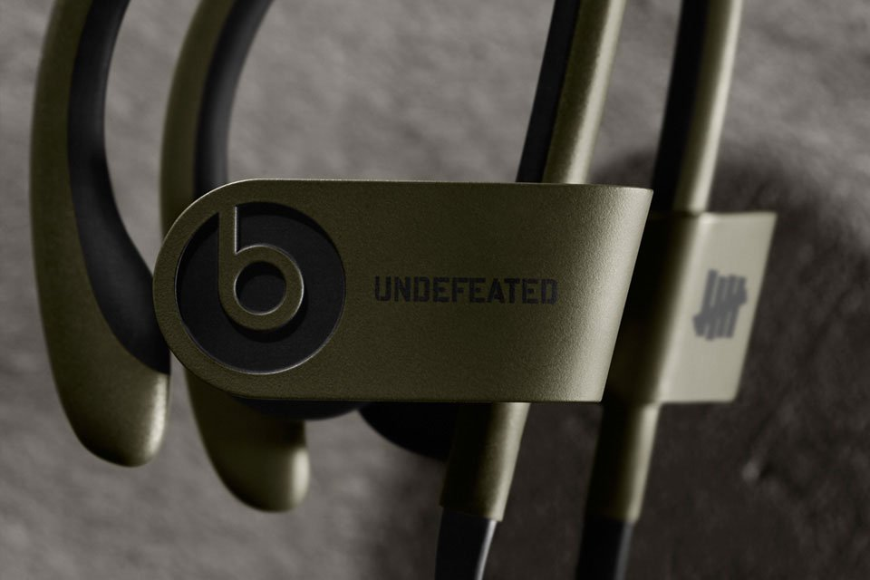 Undefeated x Beats by Dre : le Powerbeats 2 Wireless en édition limitée