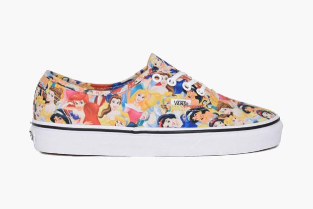 Vans x Disney : des sneakers de princesse !