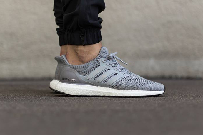 Adidas dévoile une nouvelle Ultra Boost Grey / Silver Metallic