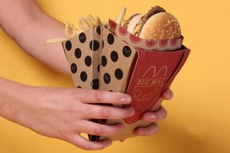 Jessica Stoll a imaginé un emballage portable et pratique pour votre Big Mac !