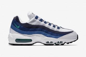 "Cocorico ! Nike équipe sa Air Max 95 OG du coloris ""French Blue"""