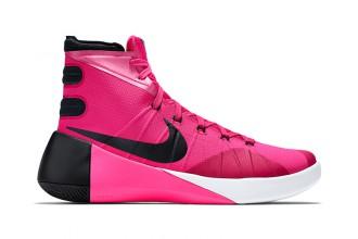 """Nike poursuit sa série """"Think Pink"""" avec sa Hyperdunk 2015"""
