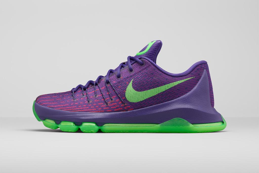 Kevin Durant dévoile la Nike KD8 «Suit» !