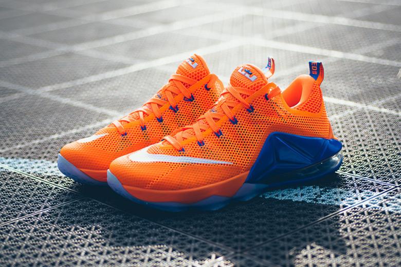 Aperçu de la nouvelle Nike LeBron 12 Low «Total Orange»