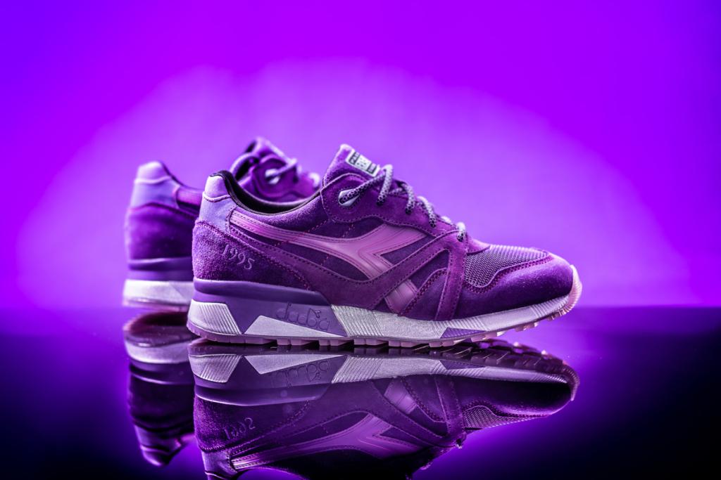 Must Have : Packer Shoes x Raekwon x Diadora N.9000 «Purple Tape»
