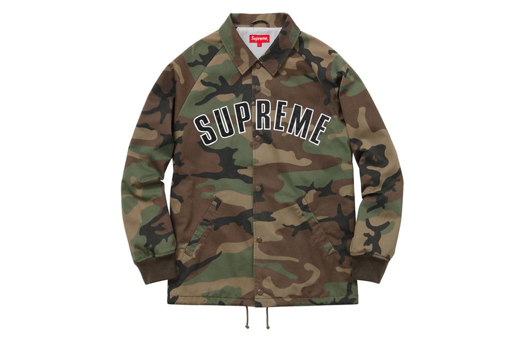 La nouvelle collection Outerwear Supreme Automne / Hiver 2015