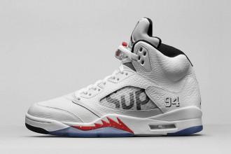 Supreme x Air Jordan 5 : un nouveau coloris dévoilé !