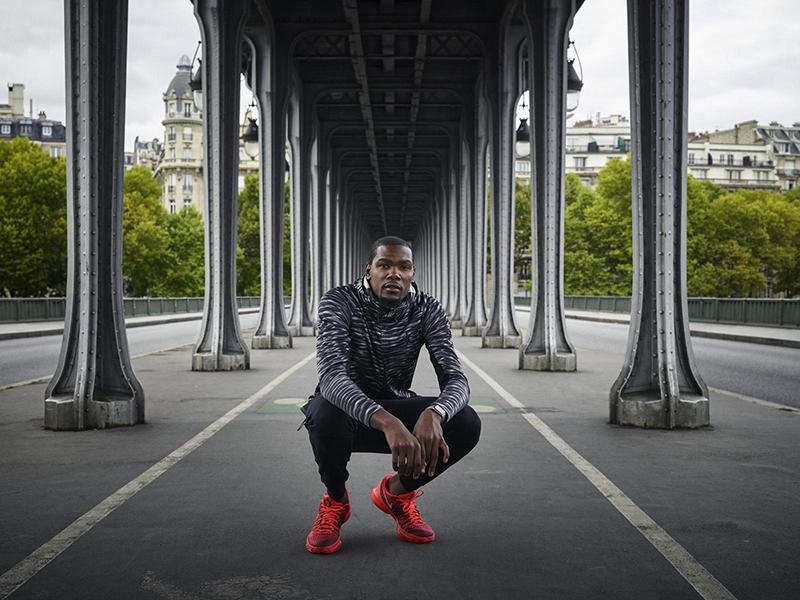 Nike fête la nouvelle KD8 en présence de Kevin Durant à Paris