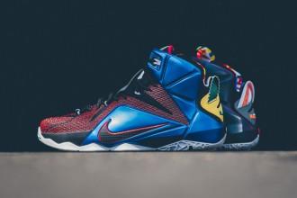 """Quelques images de la nouvelle Nike LeBron 12 SE """"What The"""""""