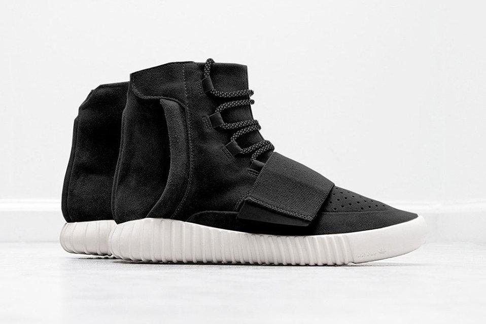 Premier aperçu de la nouvelle adidas Originals Yeezy 750 Boost «Black»