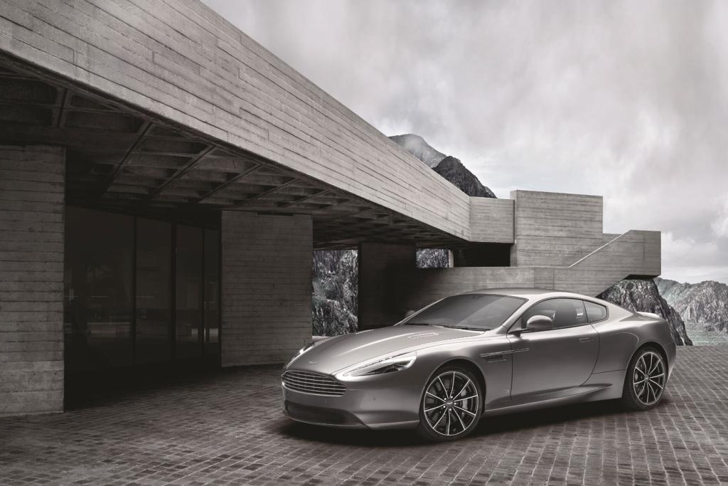Aston Martin dévoile une nouvelle voiture de James Bond : la DB9 GT Bond