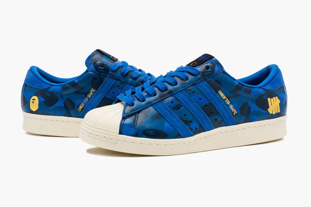 MAJ – BAPE x Adidas x Undefeated : le retour de la collaboration coup de poing!