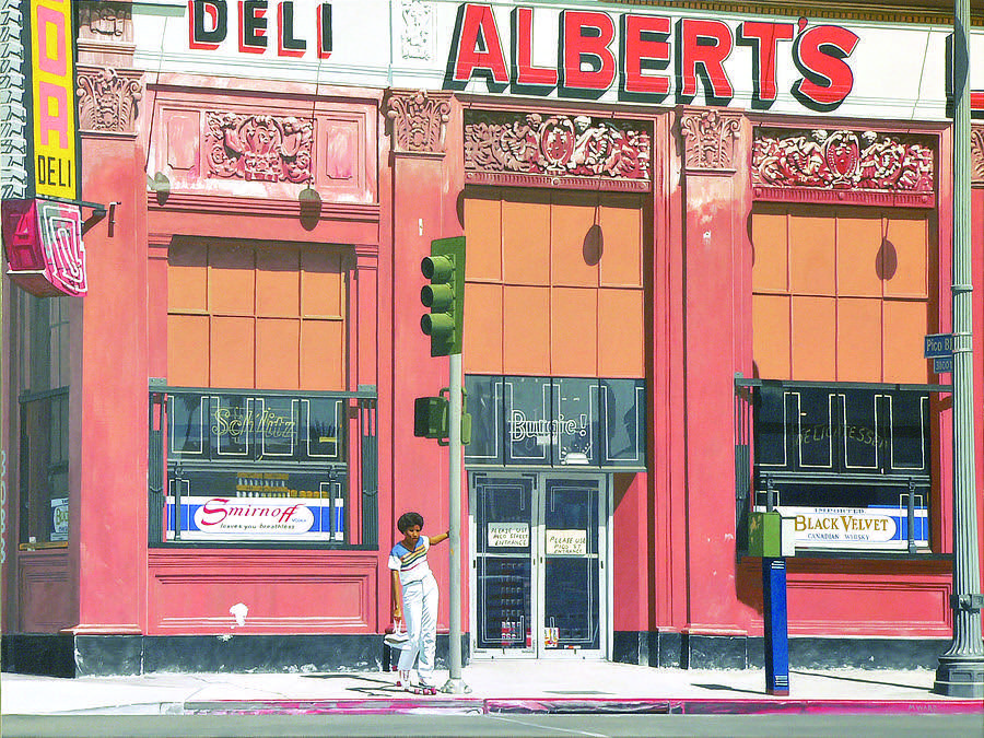 Michael Ward – «Le California Dream» en peinture