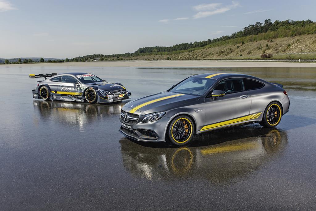 Direction l'Allemagne avec la Mercedes-AMG C63 Coupé Edition 1