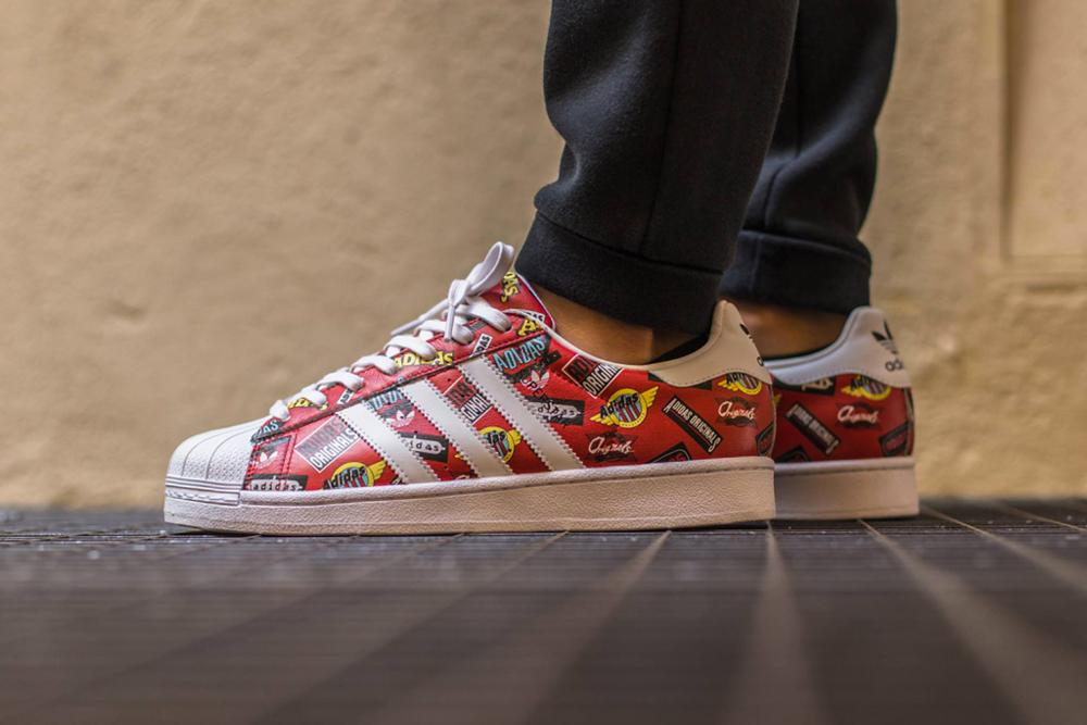 NIGO x Adidas : Une dose de pop-art avec la Superstar «Logo»