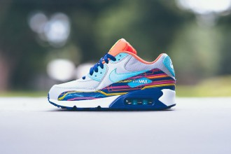 """Nouveau colorway pour la Nike Air Max 90 """"Wolf Grey/Clearwater-Gold"""""""