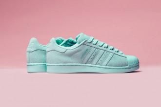 """Un nouveau coloris pour la adidas Originals Superstar RT nommé """"Aqua"""""""