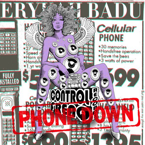 Erykah Badu revient avec Phone Down
