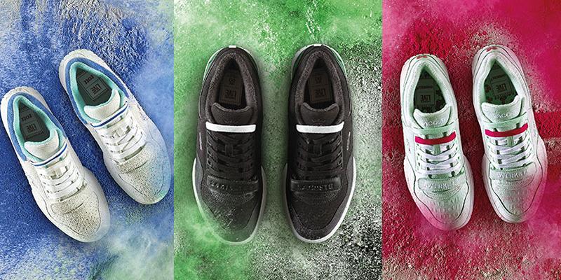 Sneakers Freakers x Lacoste L!VE pour 3 modèles en édition limitée