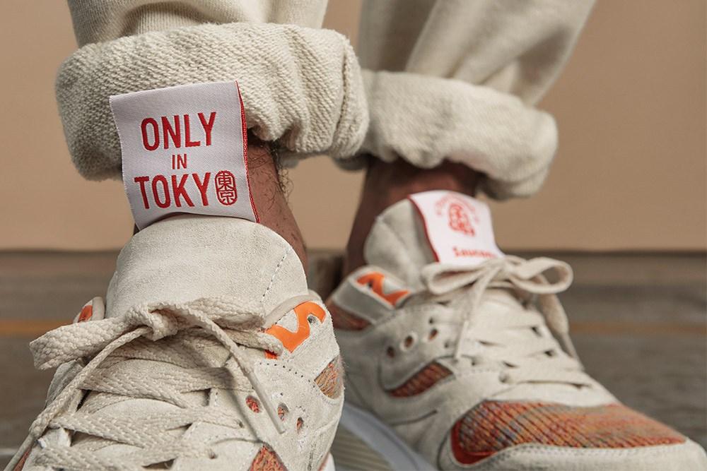 Footpatrol x BEAMS x Saucony – » Only In Tokyo «