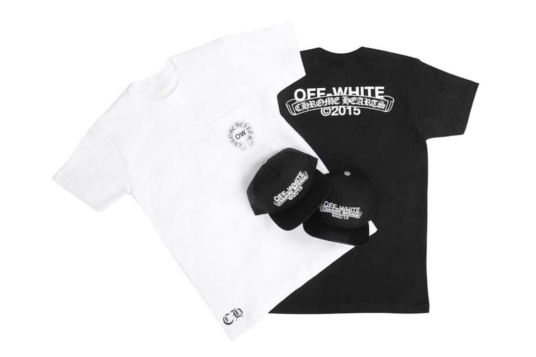 OFF-WHITE célèbre l'Art Basel en collaborant avec Chrome Hearts