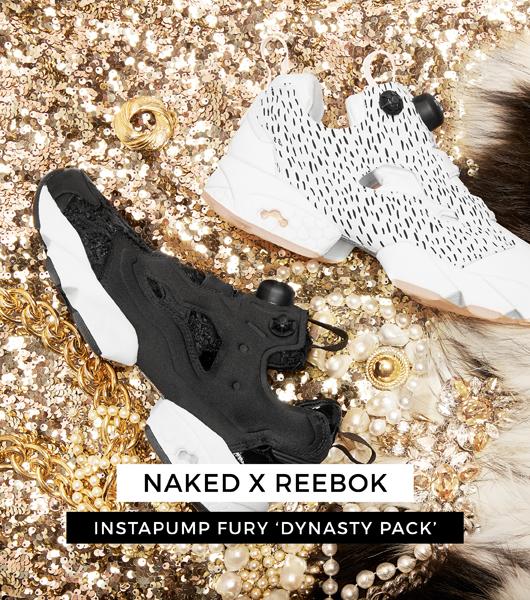 Mesdames, Reebok vous gâte avec les Insta Pump Fury Dynasty Pack