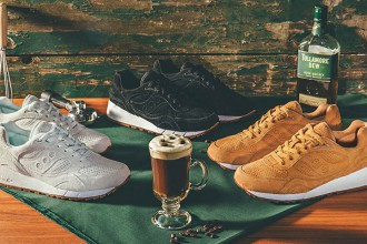"Saucony Originals dévoile un pack ""Irish Coffee"" pour la Shadow 6000"