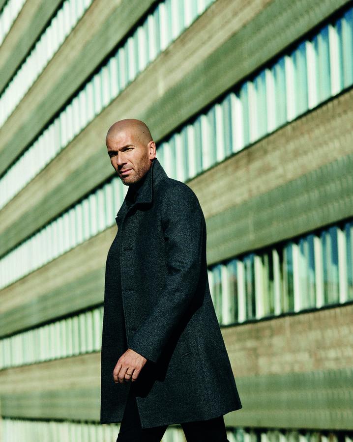Zinédine Zidane : la nouvelle égérie mode