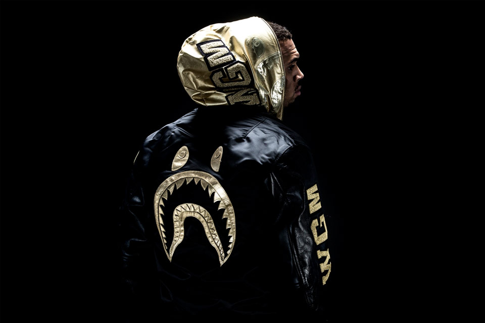 Chris Brown, nouvelle égérie de BAPE Black Label