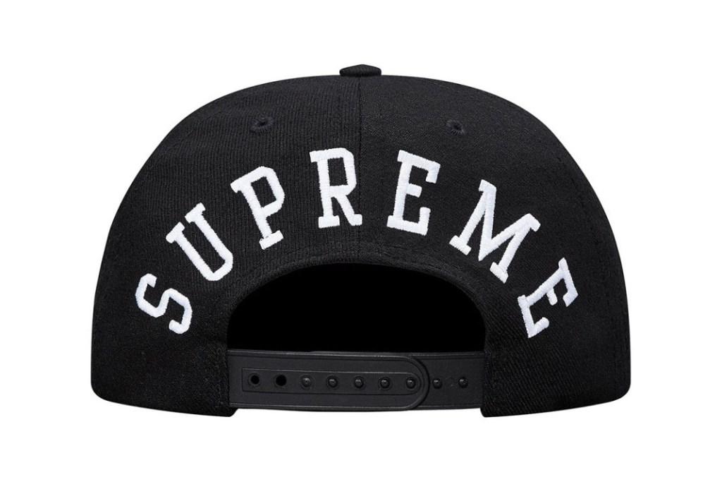 Supreme et Champion collaborent à nouveau pour une collection de snapback