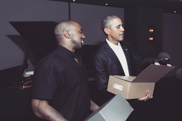 Barack Obama sort ses Yeezy Boost !