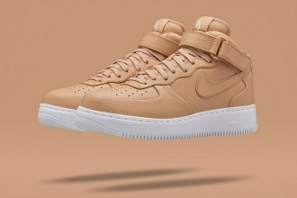 "Air force 1 mid ""Tan"" beige colorway"
