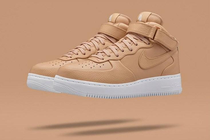 NikeLab charme avec sa Air Force 1 Mid «Tan»