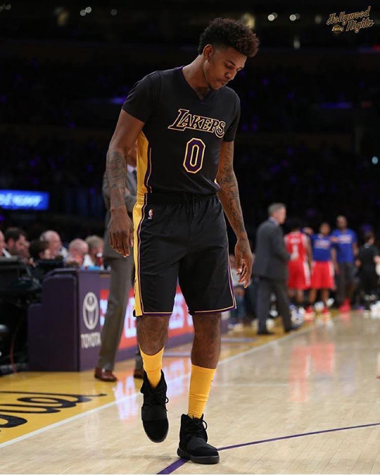 La Yeezy Boost aux pieds de Nick Young sur les paquets NBA
