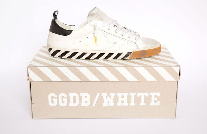 OFF-WHITE et Golden Goose se retrouvent pour une nouvelle collab'