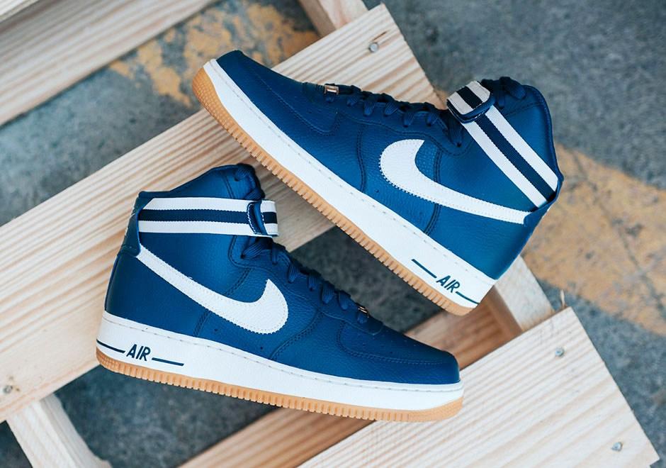 Nike largue les amarres avec sa Air Force 1 High '07 «Blue Coastal»