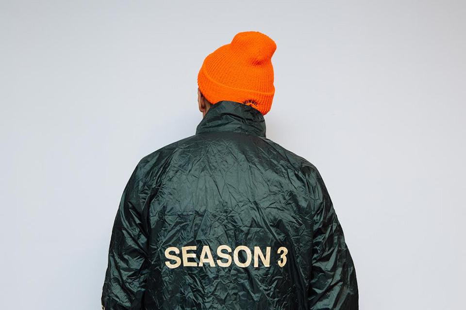 La collection Yeezy Season 3 de Kanye West en chair et en os