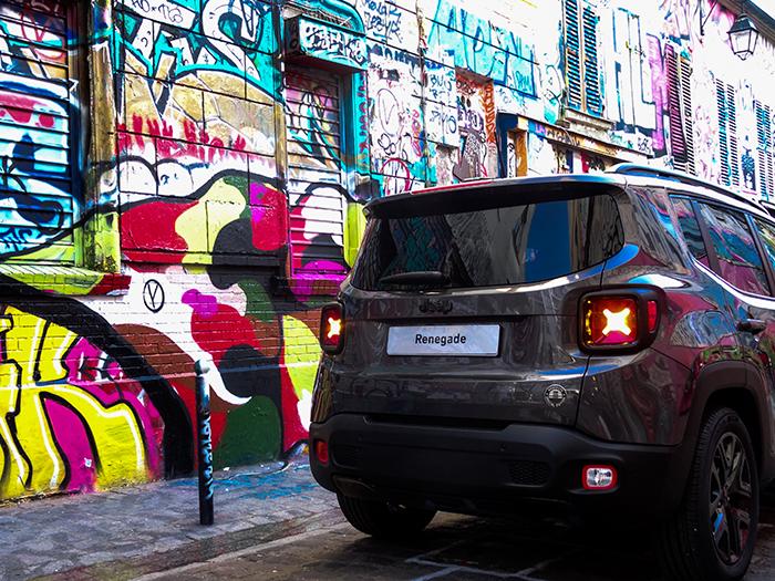Jeep se met à l'heure américaine pour sa série spéciale Renegade Brooklyn Edition