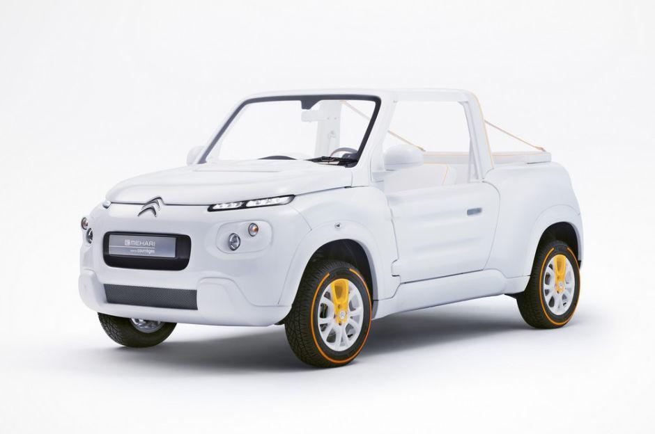 La nouvelle Citroën by Courrèges