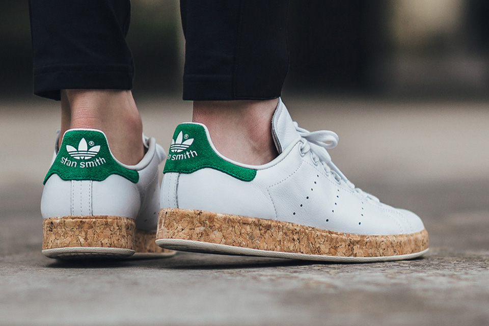 Le liège s'invite sur la Stan Smith