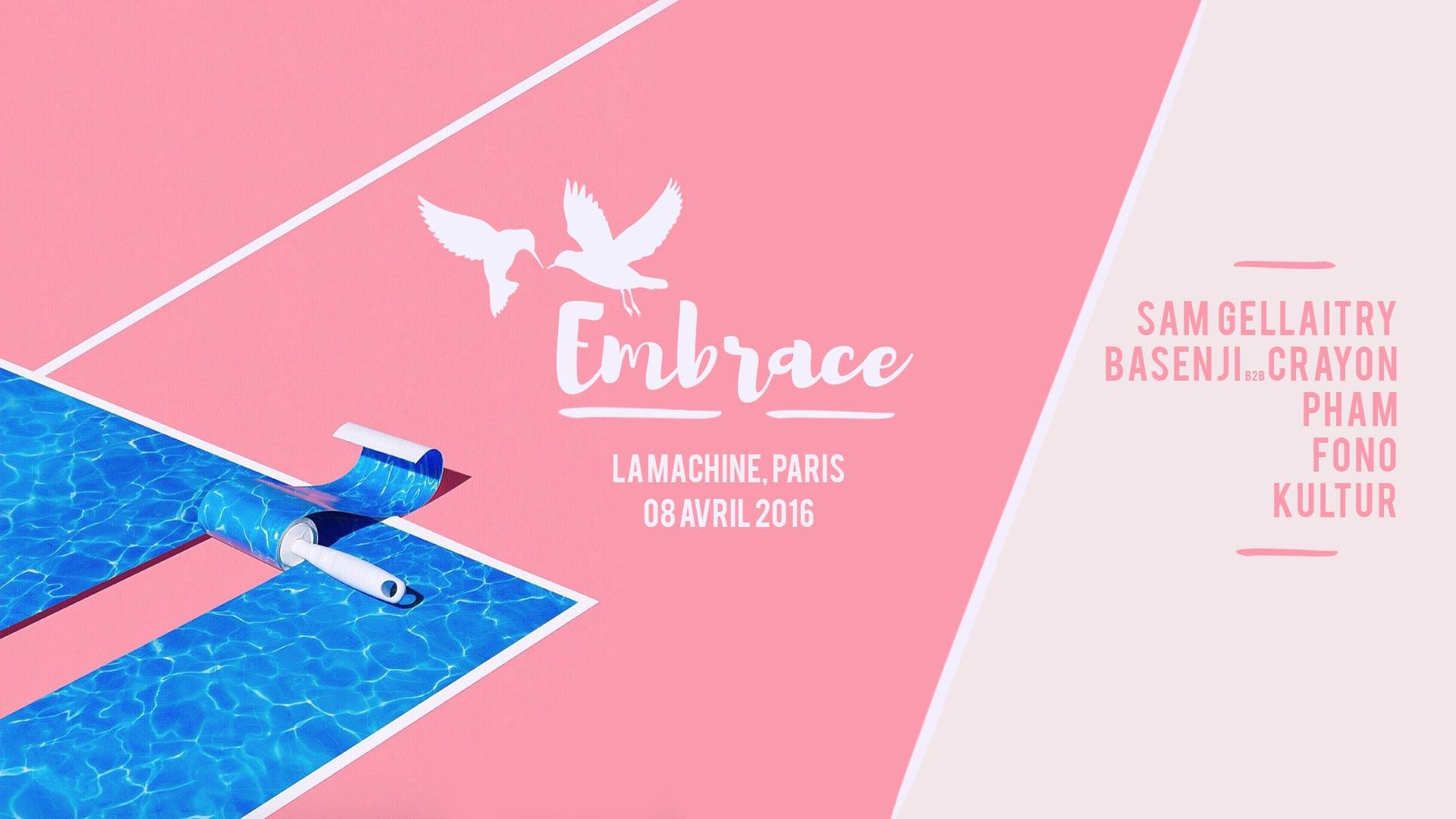 Gagnez vos places pour la soirée Embrace du 8 avril !