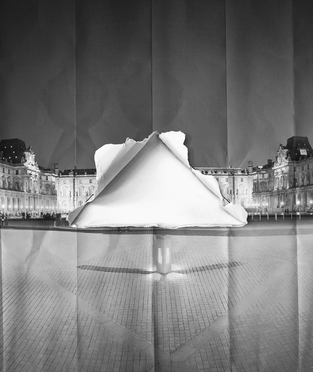 JR exposera au Louvre cet été