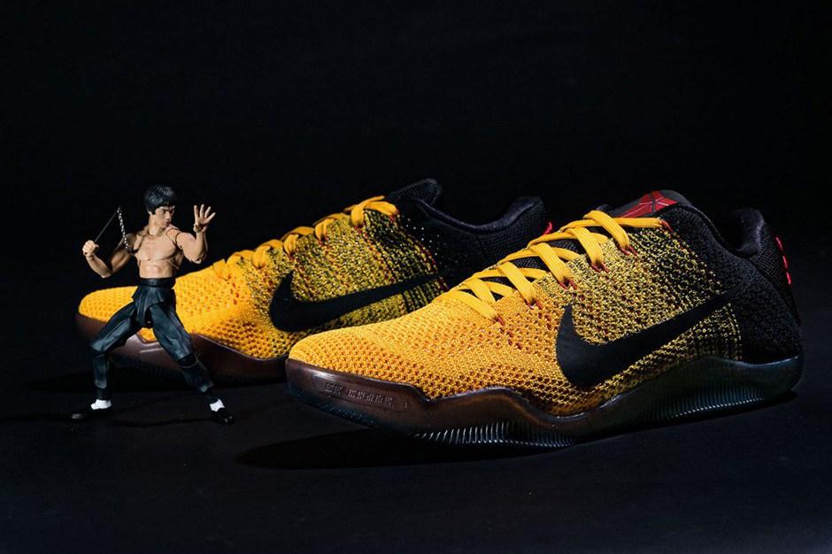 Quand Nike s'inspire de Bruce Lee pour la Kobe 11