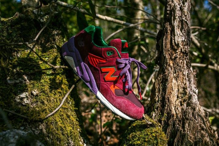 Une collaboration colorée pour New Balance et Packer Shoes