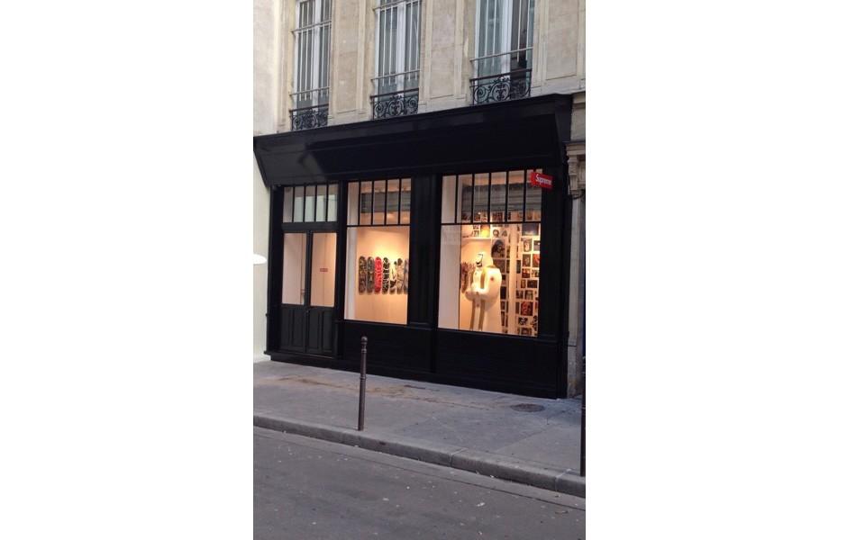 Les premières images du Store Supreme de Paris !
