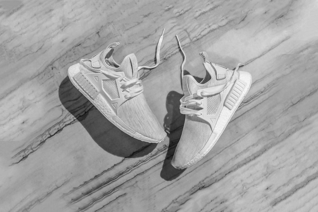 Une nouvelle déclinaison de la adidas Originals NMD nommée XR1 «Triple White»