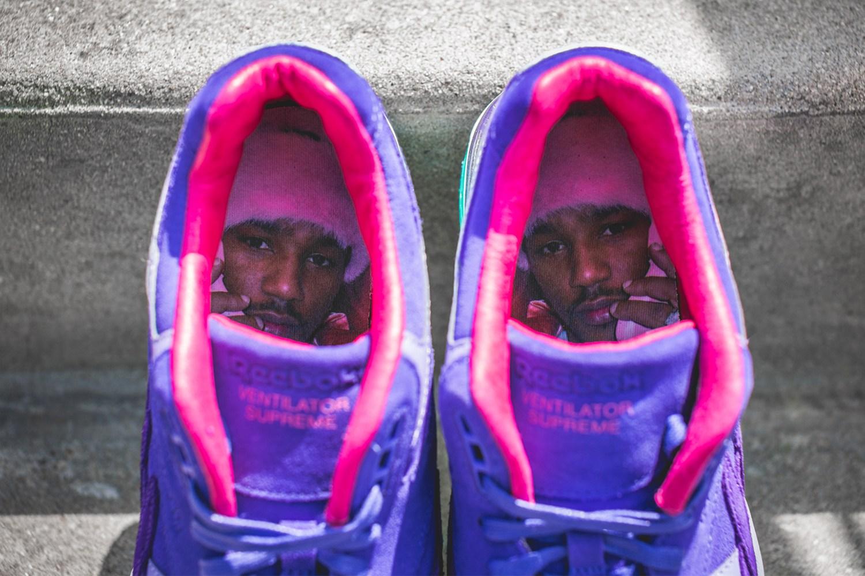 Reebok x Cam'ron : une nouvelle Ventilator Supreme «Purple Haze»