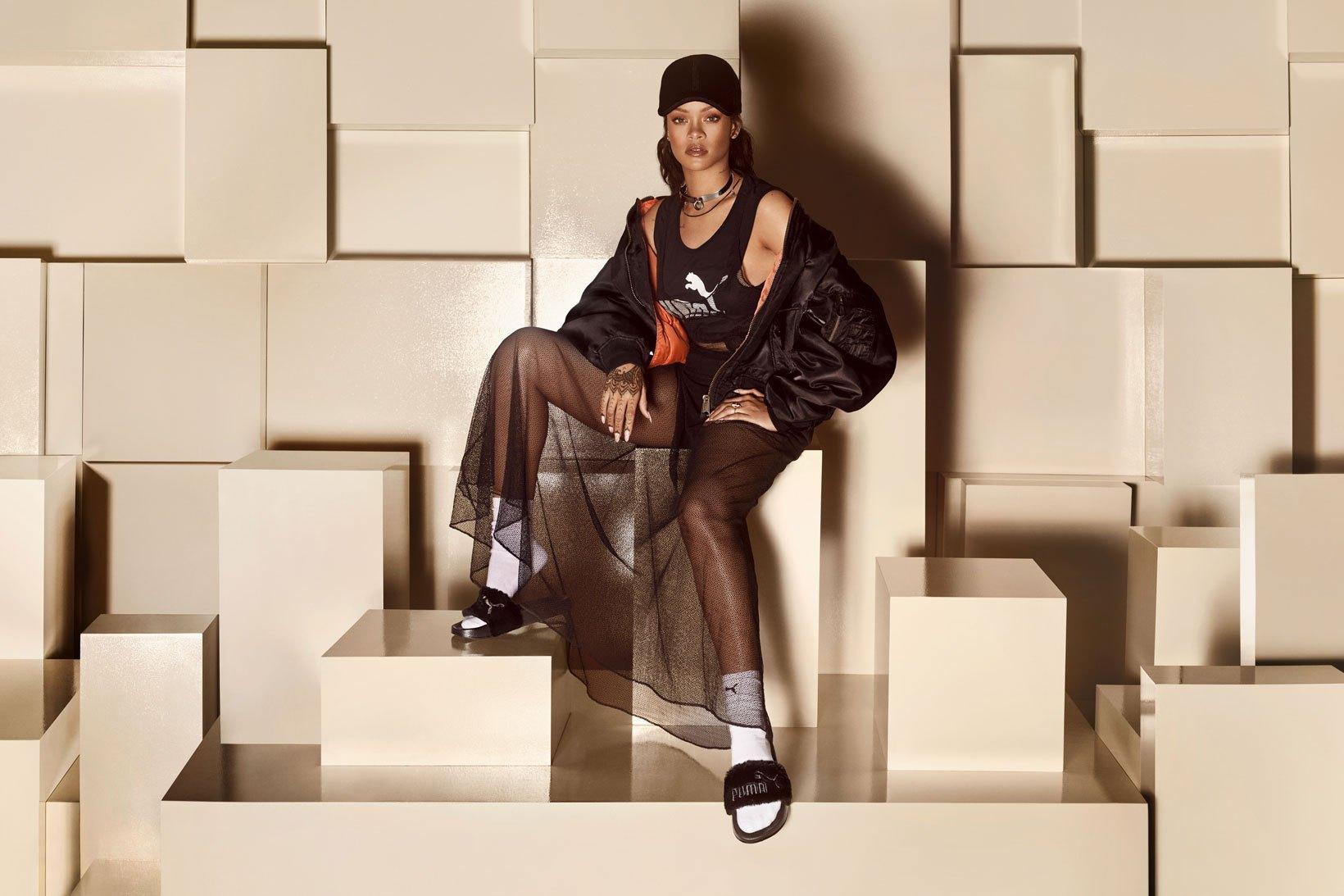 Une troisième paire étonnante par Rihanna pour Puma